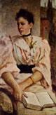 Silvestro Lega - La signora Paola Bandini