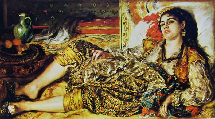 Donna di Algeri, 68 x 123, National Gallery of Art Washington