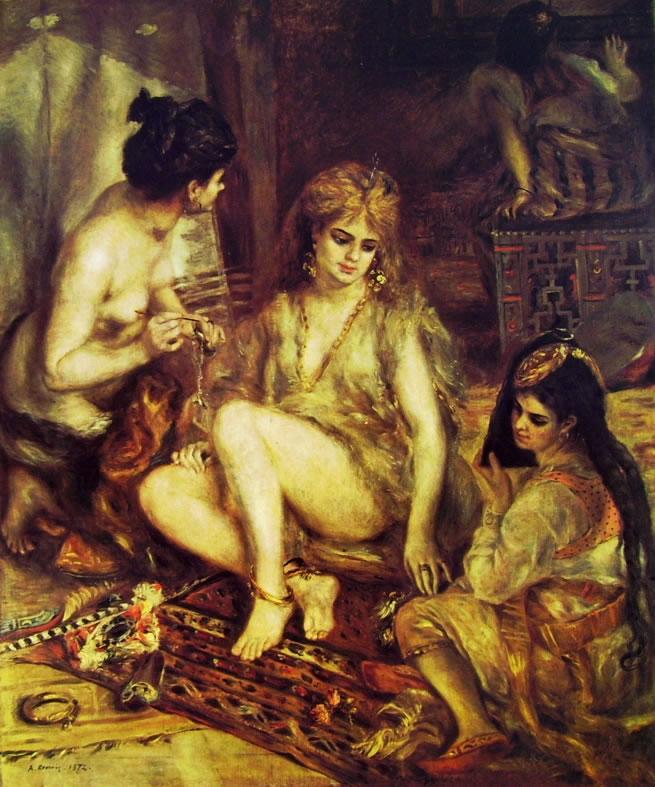 Renoir - Parigine in costume algerino