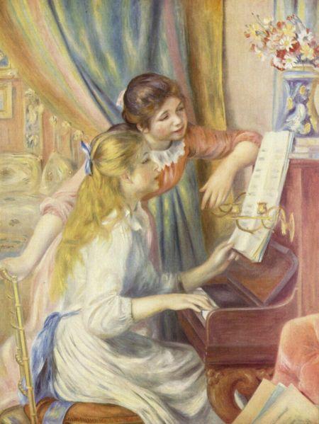 """Renoir - """"Jeunes Filles au piano"""""""