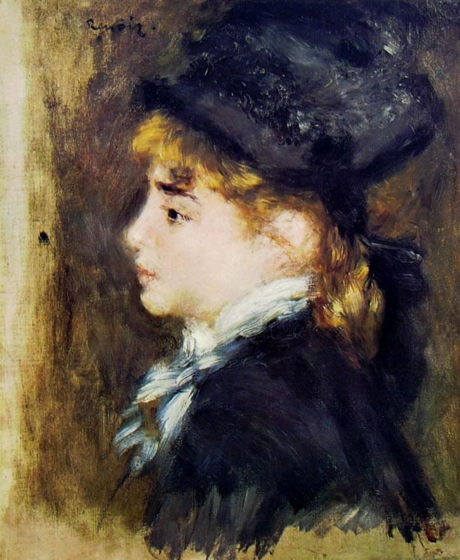 Renoir - Ritratto di giovane Donna