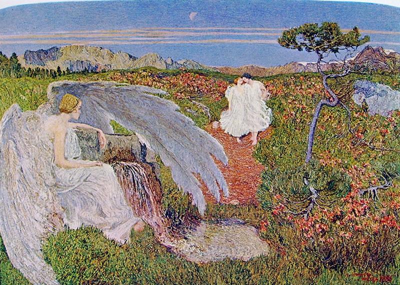 Giovanni Segantini: L'amore alle fonti della vita