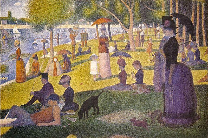 Georges-Pierre Seurat: La grande Jatte