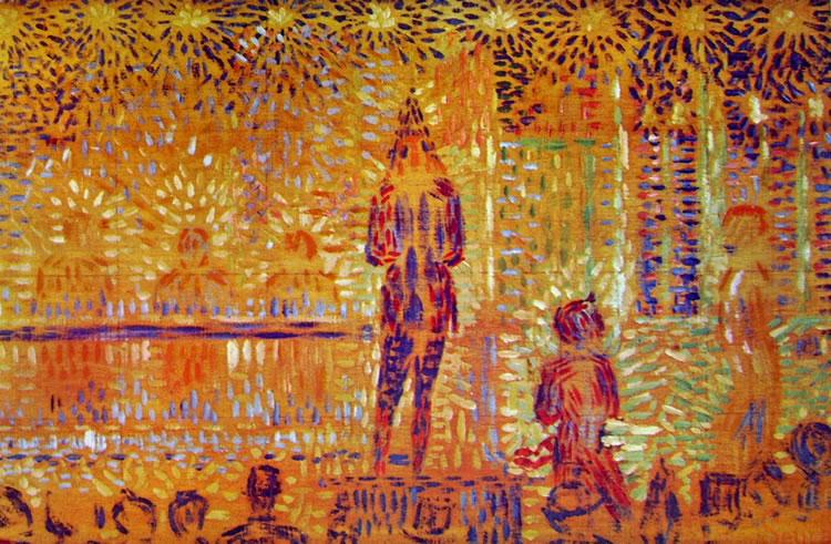 Georges-Pierre Seurat: La parata del circo