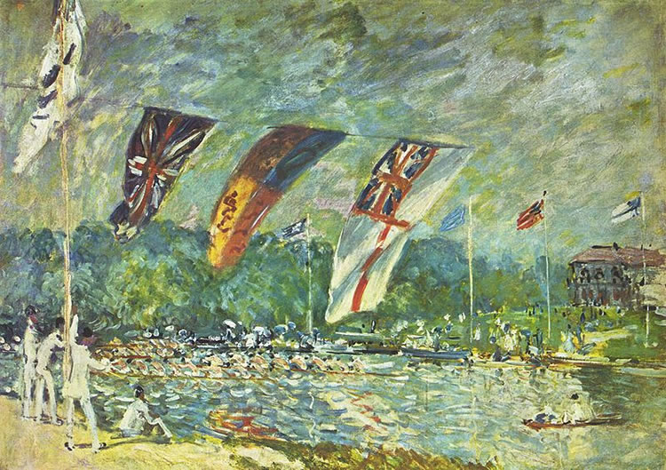 Alfred Sisley: Regate a Molesey