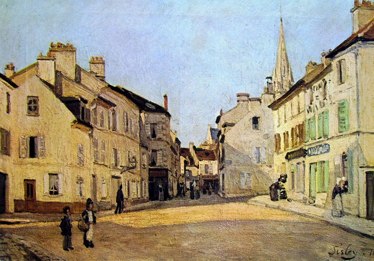 Alfred Sisley: Piazza d'Argenteuil