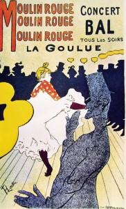 Toulouse-Lautrec: La Goulue Molin Rouge