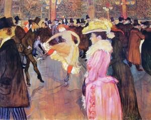 Ballo al Moulin Rouge, cm. 150, Collezione Mcllhenni, Filadelfia