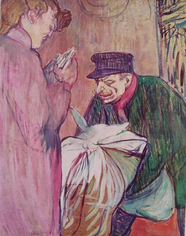 Toulouse-Lautrec: Il lavandaio della casa