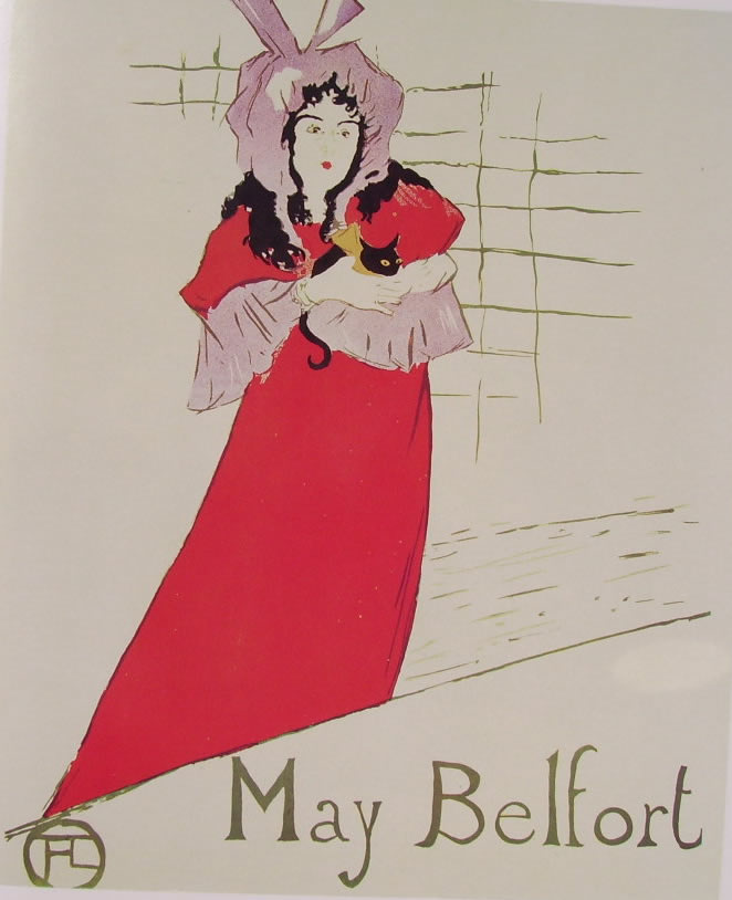 Toulouse-Lautrec: May Belfort (manifesto)