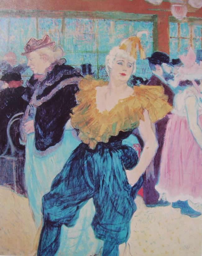 Toulouse-Lautrec: Cha-U-Kao al Moulin Rouge