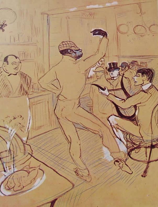 Toulouse-Lautrec: Chocolat danzante