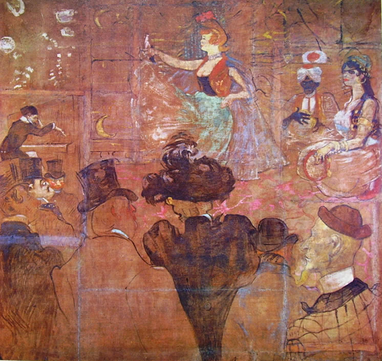 Toulouse-Lautrec: La danza moresca