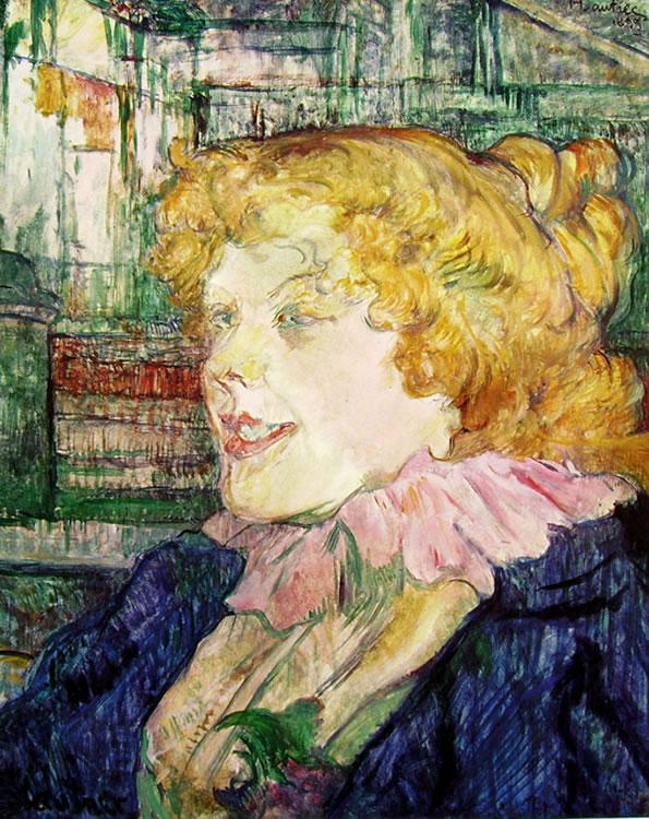 Toulouse-Lautrec: L'inglesina dello Star a le Havre