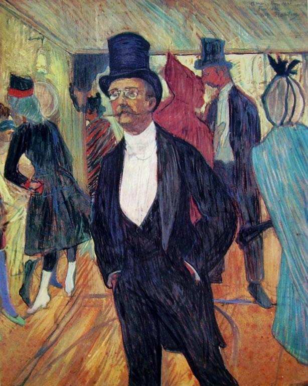 Toulouse-Lautrec: Ritratto del signor Fourcade