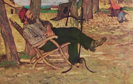 Fattori - Diego Martelli a Castiglioncello