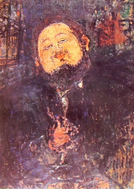 Amedeo Modigliani: Ritratto di Diego Rivera