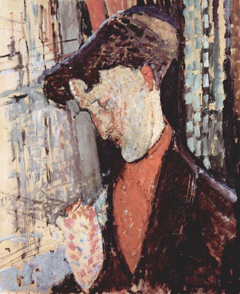 Amedeo Modigliani: Ritratto di Frank Burty Haviland