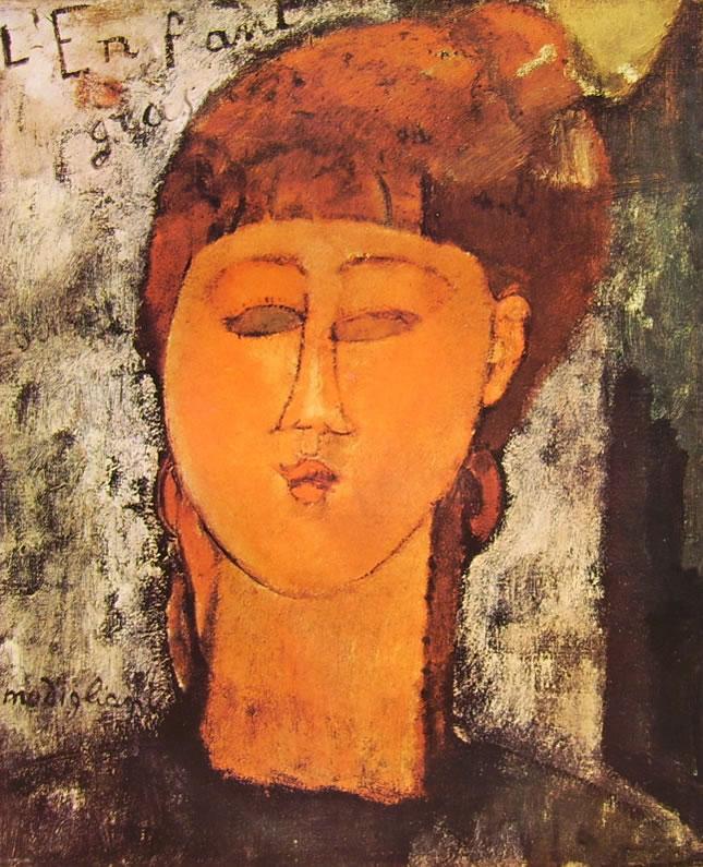 Amedeo Modigliani: L'enfant Gras