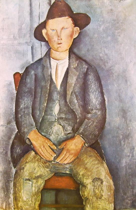 Amedeo Modigliani: Contadinello