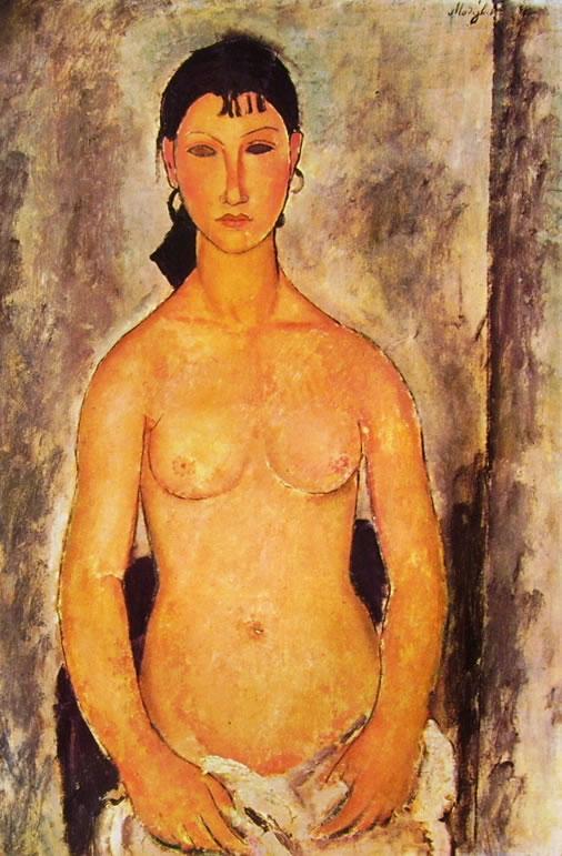 Amedeo Modigliani: Nudo in piedi (Elvira)