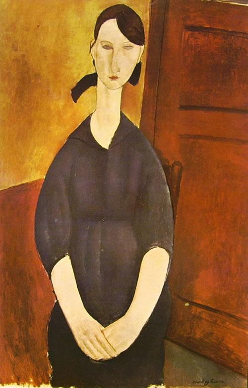 Amedeo Modigliani: Paulette Jourdain