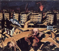 Brennende Stadt (Burning city)