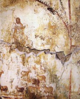 Cristo docente, Ipogeo degli Aureli, Roma
