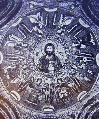 Mosaico della cupola della Cappella Palatina, Palermo