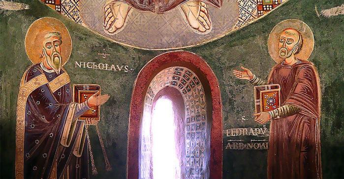I Santi Nicola ed Eraldo: Cappella di Sant'Eraldo nel Monastero di Novalesa