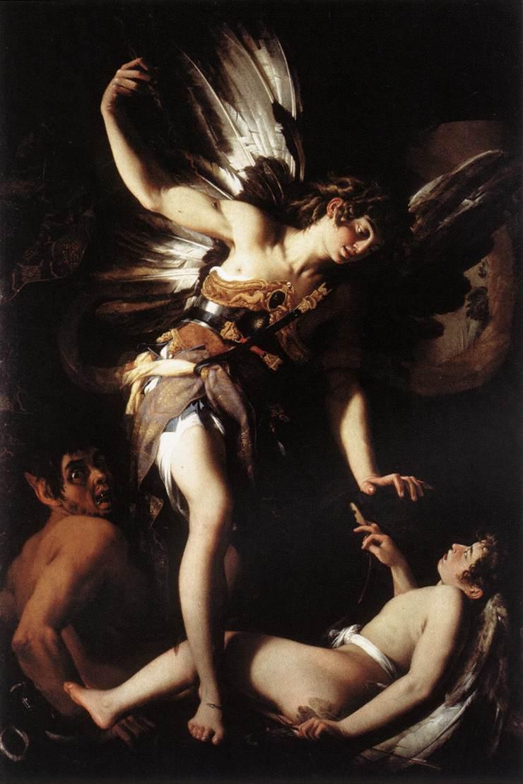 Giovanni Baglione: Amor sacro e amor profano, anno 1602, Roma.