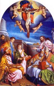 Jacopo Apollonio - Pala d'altare, attribuita all'artista e custodita nella chiesa parrocchiale dei Santi Nazario e Celso, a San Nazario, nel Canale di Brenta