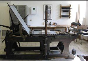 torchio per litografie