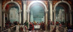 Paolo Caliari detto il Veronese: La cena in casa Levi