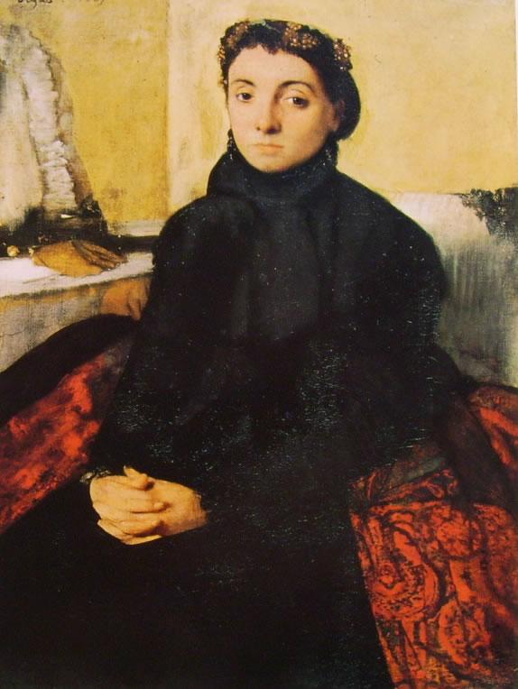 Edgar Degas: Ritratto di Joséphine Gaujelin