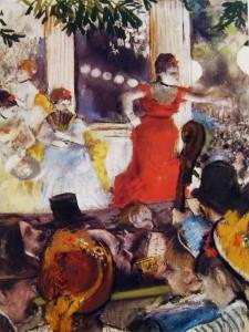 """Al Café Concerto """"Les Ambassadeurs"""", 37 x 27 cm. Musée des Beaux Arts, Lione."""