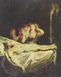 Rubens: Cristo morto