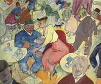 George Grosz: Caféhaus, anno 1915