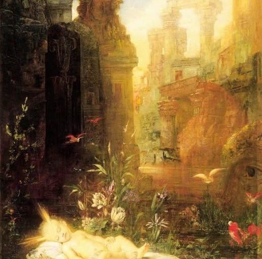 Gustave Moreau: Mosè bambino, 1878
