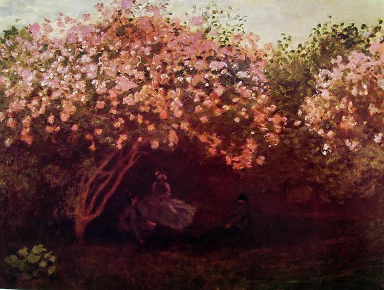 Claude Monet: Riposo sotto i lillà