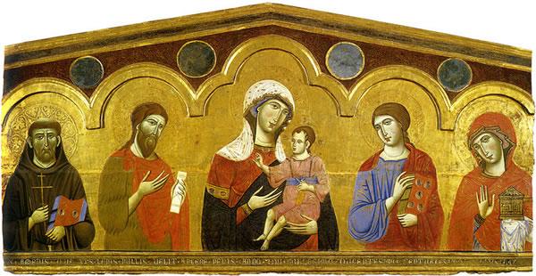 Guido da Siena, Madonna col Bambino e Santi