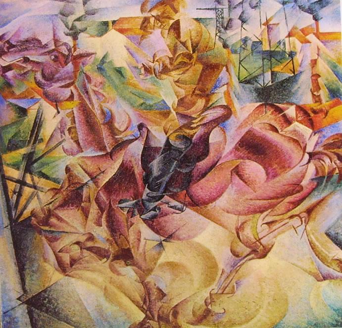 Umberto Boccioni: Elasticità (Collezione Jucker)