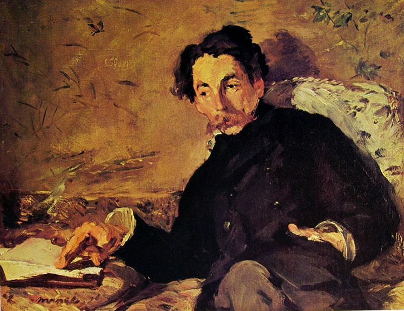 Edouard Manet: Ritratto di Stéphane Mallarmé