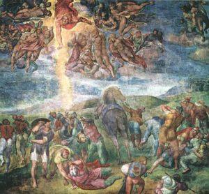 Michelangelo Buonarroti: La conversione di Saul (o Vocazione di San Paolo)