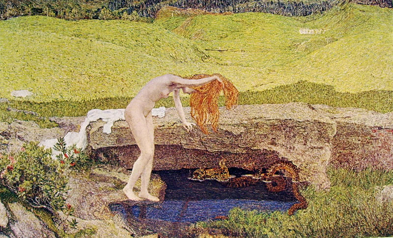Giovanni Segantini: La vanità (proprietà privata)