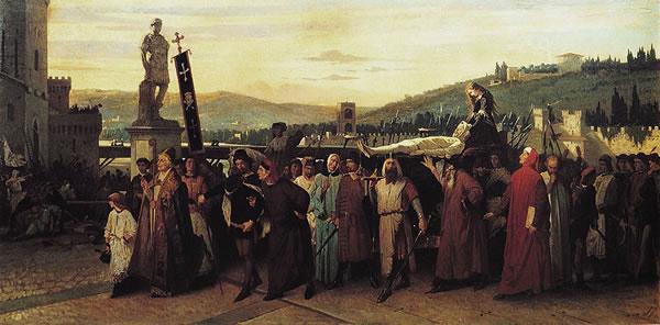 I funerali di Buondelmonte