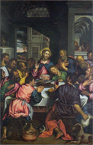 Comunione degli Apostoli, fine Cinquecento