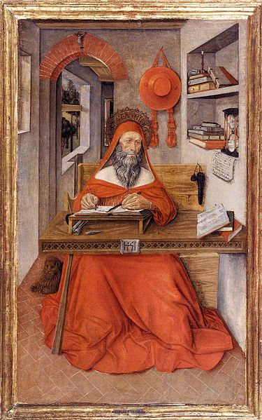 Antonio da Fabriano - San Girolamo nel suo Studio