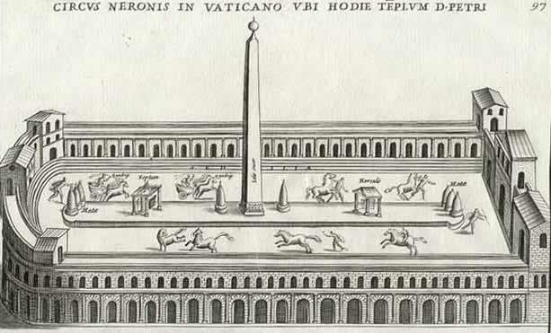 Bartoli Pietro Santi: Circus Neronis in Vaticano
