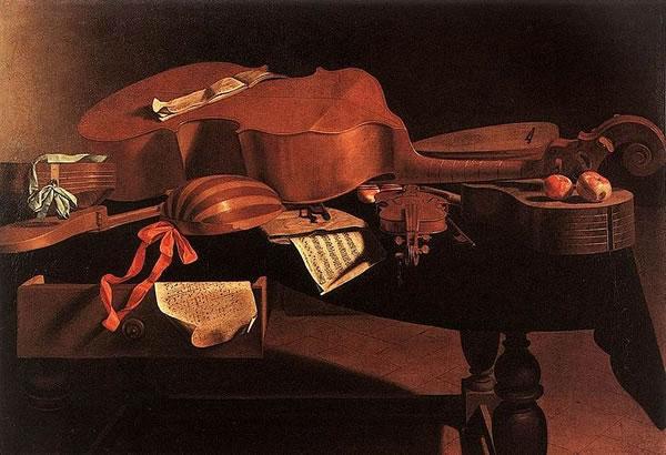 Evaristo Baschenis: Strumenti musicali